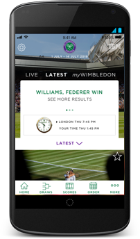 Mobile Apps - The Championships, Wimbledon 2019 - Official Site by IBM